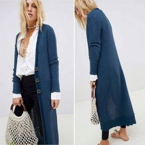Free People Clearwater Maxi Cardigan Sweater